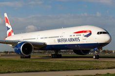 British Airways Boeing 777-336/ER (photo by @LHRlocal)