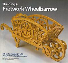 family scroll saw pattern (make wheelbarrow without scroll work)