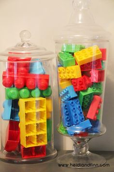 HeidiandFinn modern wears for kids: Lego Party - birthday ideas, decorations, and free printables