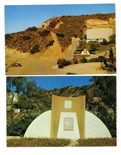 2 Starlite Theatre Postcards Stough Park Burbank California Open Air Theatre