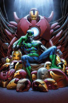 Greg Land - Iron Man