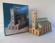 Dickens of London Vintage '91 Lighted Church by HobbitHouse