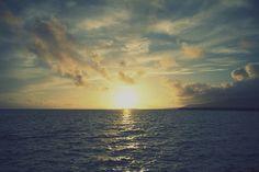 sunrise by yuu@photography, via Flickr  #beach #beautiful #cool #cute #summer #ghibli #japan #ocean #okinawa #photography #sea #seashore #sun