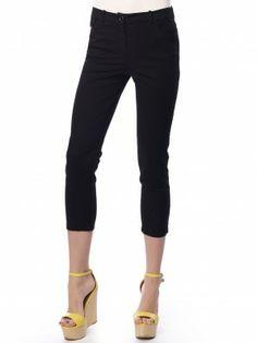 #capri_pants#black Slim Fit Pants, Long Pants, Workout Pants, Capri Pants, Fitness, Black, Fashion, Stocking Tights, Moda