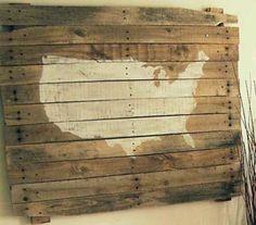 15 ideas para decorar con palets de madera. | Mil Ideas de Decoración