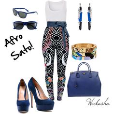 Afro Sato!!!, created by wakesho-eddah on Polyvore