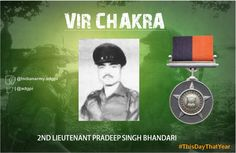 3 Nov 62 He brought down observed artillery fire on enemy under heavy enemy fire .For his leadership & courage was Awarded #http://VirChakrapic.twitter.com/lJUDbKg0BW #IndianArmy #Army