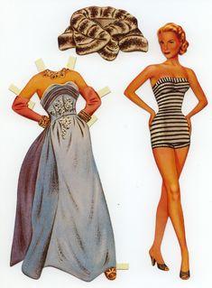 Grace Kelly - paper doll
