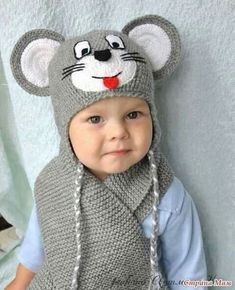 Exceptional Stitches Make a Crochet Hat Ideas. Extraordinary Stitches Make a Crochet Hat Ideas. Crochet Animal Hats, Crochet Kids Hats, Crochet Beanie, Free Crochet, Knitted Hats, Knit Crochet, Baby Patterns, Crochet Patterns, Baby Knitting