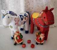free horse pattern- this one looks more like a Swedish dala