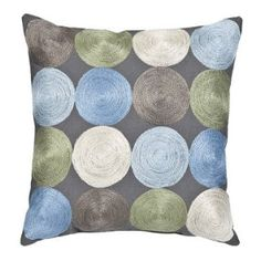 Crushing on colorful pillows