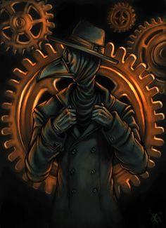 mr Plague Doctor by oomizuao