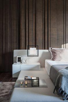 Master Bedroom Interior, Modern Bedroom Design, Small Room Bedroom, Contemporary Bedroom, Bed Design, Home Bedroom, Bedroom Decor, Residential Interior Design, Suites