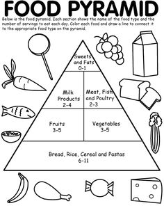 We used his food pyramid puzzle just to better understand the various food groups and to learn about which foods are healthy. Description from pinterest.com. I searched for this on bing.com/images