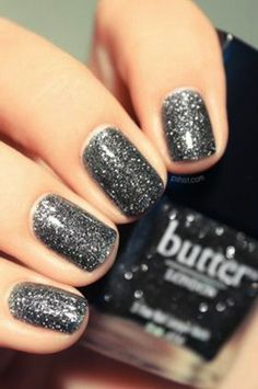 Louise Roe - New Years Eve Nail Designs