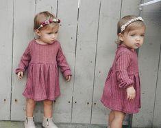 Twin Baby Girls, Twin Babies, Kids Girls, Cute Twins, Cute Babies, Twin Outfits, Kids Outfits, Tatum And Oakley, New Baby Pictures