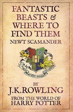 JK Rowling to Write New Film Series Set in the World of Harry Potter..OMG! OMG!!!!Script by JK Rowling. Inspired by Fantastic Beasts and Where to Find Them; main character is Newt Scamander. Setting: New York, 70 years before Harry went to Hogwarts. Wizarding adventures and monsters in circa 1930s NY? Um, yes
