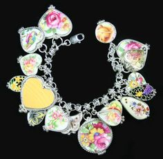 "Wild about this charm bracelet from ""Western Vintage Revival"""