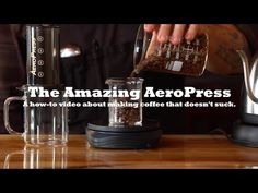 Learn to make amazing AeroPress Coffee with brewing dude Josh in Chicago. All the tips and tricks related to grind size, temperature and methods to make coff. Cupping At Home, Aeropress Coffee, How To Make Coffee, Brewing, Coffee Maker, Youtube, Coffee Maker Machine, Coffee Percolator, Coffeemaker