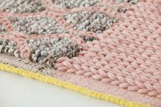 Karpet GAN-rugs Mangas Rhombus pink