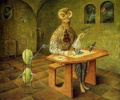 Психоделические картины Леоноры Каррингтон: philologist