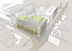 Gallery of Hawkins\Brown Reveal Plans for Bartlett School Revamp - 6