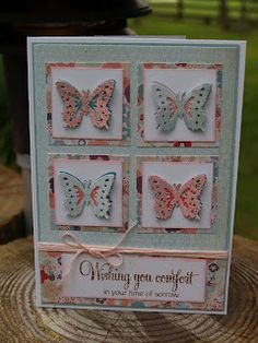 Punched butterflies on inchies