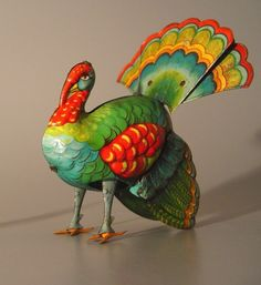 vintage tin turkey...