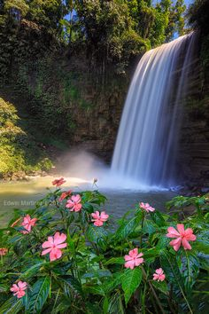 First Falls, Lake Sebu, South Cotobato, Philippines; photo by Edwin Martinez on 500px