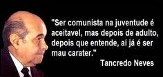 Tancredo Neves nasceu em São João Del Rei, Minas Gerais, em 4 de março de 1910…