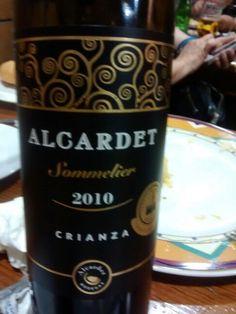 Este vino lo probé en Alcázar. Bueno.