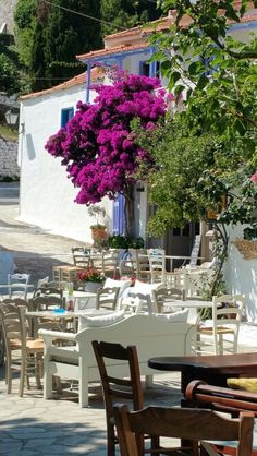 Alonissos, old village