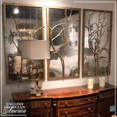 """Thank you so much for your review, Dot! We hope these will be a great addition to your home.  ⭐⭐⭐⭐⭐  Full Review: """"We found these and thought they may be a good alternative to a painting. They work perfectly over our fireplace and we strongly recommend them for you!"""" - Dot Custom Furniture, Antique Furniture, Reproduction Furniture, Custom Mirrors, Cabinet Makers, Decorative Objects, Alternative, Antiques, Painting"""