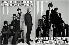 The 2 groups in BTS (Jin's bed hair says it all) | allkpop Meme Center