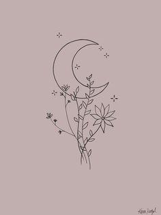 Mini Drawings, Cool Art Drawings, Art Drawings Sketches, Easy Drawings, Small Drawings, Doodle Drawings, Tattoo Sketches, Cute Tattoos, Small Tattoos