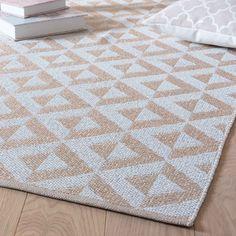 Teppich, weiß/rosa, 90 x 150cm, ...