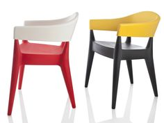 Polyethylene chair JO Jo Collection by ALMA DESIGN | design Mario Mazzer