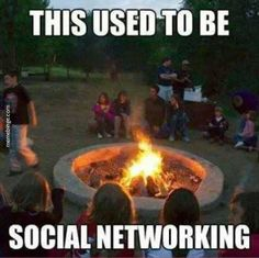 The good old days of human interaction