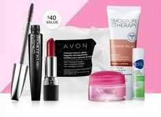 Free Avon 6 Piece Customer Faves set with $50 order and code FANFAVE at https://mmcquain.avonrepresentative.com/