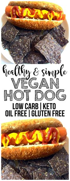 Vegan Hot Dog This Vegan Carrot Hot Dog is the perfect healthy lunch! Its also keto low-carb gluten-free oil-free and low-calorie. It tastes remarkably like the real thing! Source by anniemarkowitz Best Vegan Recipes, Dog Recipes, Easy Healthy Recipes, Whole Food Recipes, Vegetarian Recipes, Vegan Ideas, Carrot Recipes, Vegetarian Lunch, Lunch Recipes