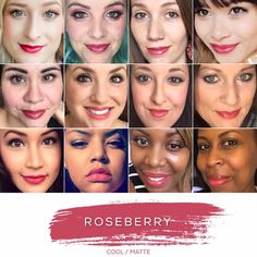 Roseberry - message me if you want to give it a try. LipSense Color + Gloss + Oops remover = $55