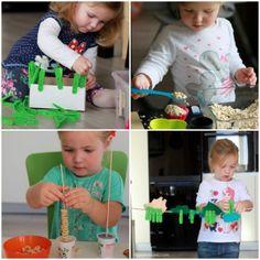 Toddler Learning Activities, Motor Activities, Sensory Activities, Infant Activities, Kindergarten Activities, Preschool Crafts, Crafts For Kids, Baby Sensory, Kids Corner