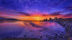 Sunrise the Navy bank Dundalk Co Louth