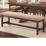 Coaster Furniture - Camila Rectangular Extension Dining Table In Brown - 104291
