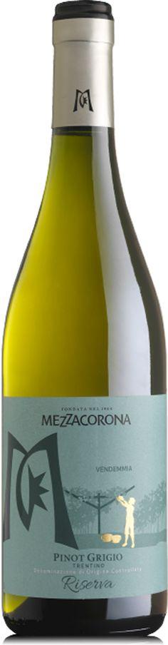 Mezzacorona Pinot Grigio Riserva - Vinklubben