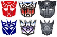 Transformers insignias