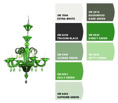 Paint colors from Chip It! by Sherwin-Williams ~ Jolly Green