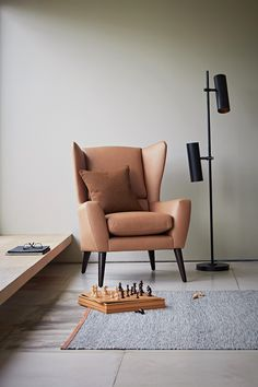 The Lounge Co. Floyd Chair in Smooth Leather - Camel Chair Design, Lounge Design, Rich Home, Comfy Sofa, Interior Inspiration, Design Inspiration, Living Room Interior, Leather Sofa, Accent Chairs