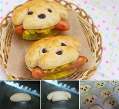 Okuldan gelen ufaklıklara sürpriz yapın! :) (Gözler ve burun için siyah zeytin kullanabilirsiniz)