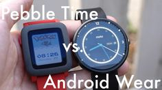 Pebble Time vs. Android Wear (Video) http://pocketnow.com/2015/07/02/pebble-time-vs-android-wear-video …